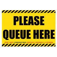 Please Queue Here