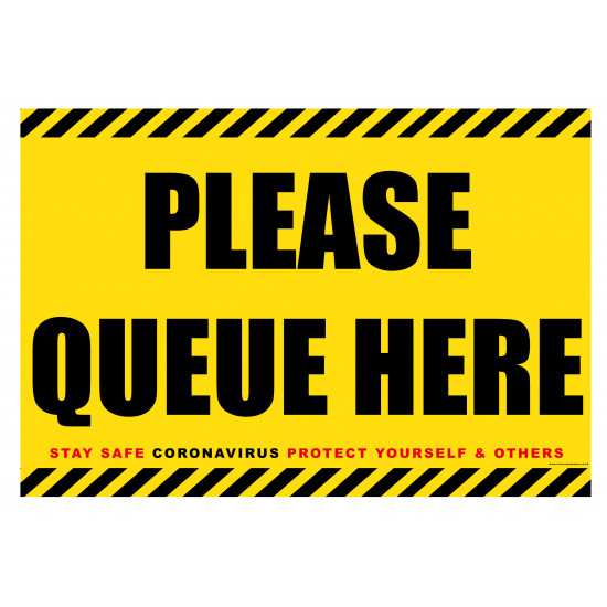 Please Queue Here