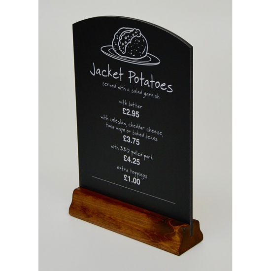Table Top Printed Tombstone Board