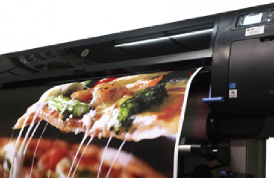 Our Poster printer, Z6800
